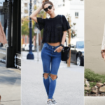How to style ripped jeans in a very classy manner