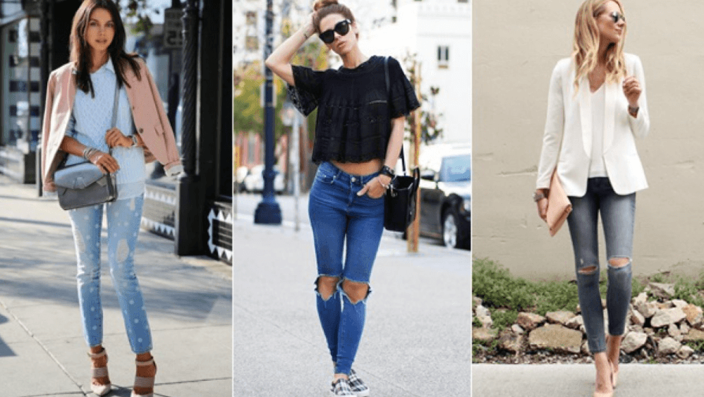 style ripped jeans